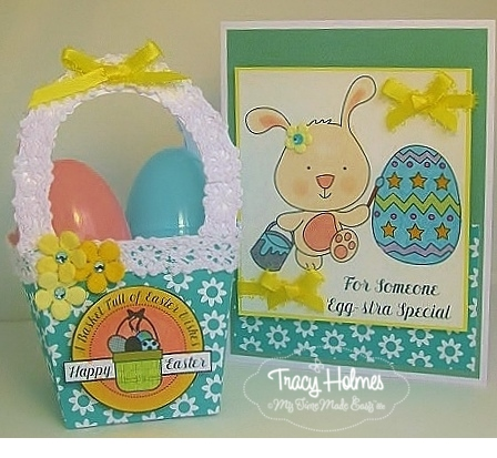 Bagsket & Egg Decorating Card